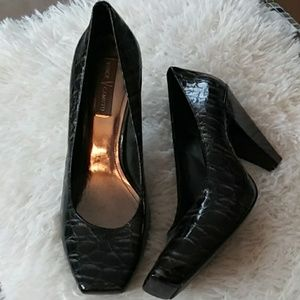 Black heels by Vince Camuto